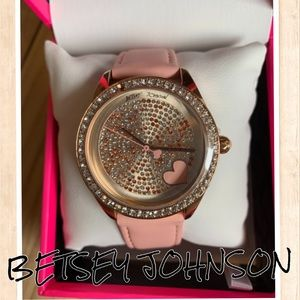 NIB Betsey Johnson Watch